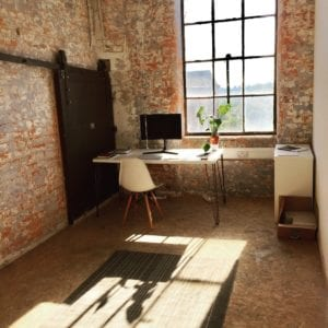 affordable studio in one of our friendly creative suites available