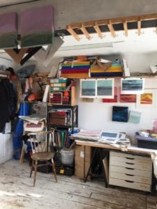 A visit to Paul Holding's studio
