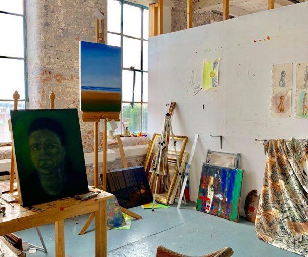 Artist-studio-to-rent-Lace Market